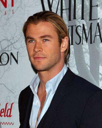 Chris Hemsworth arrives at the Snow White & The Huntsman Australian Premiere at Event Cinemas Bondi Junction on June 19, 2012 in Sydney, Australia.