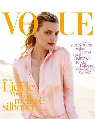 Guinevere van Seenus for <em>Vogue</em> Netherlands.