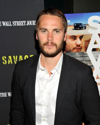 Actor Taylor Kitsch attends the