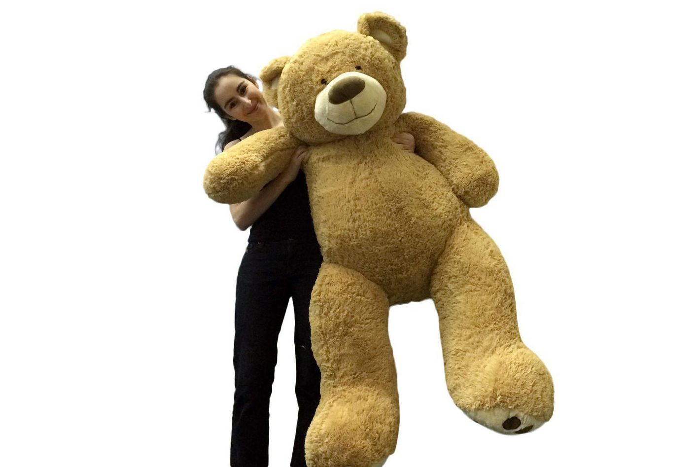"Big Plush Personalized Giant 60"" Teddy Bear"
