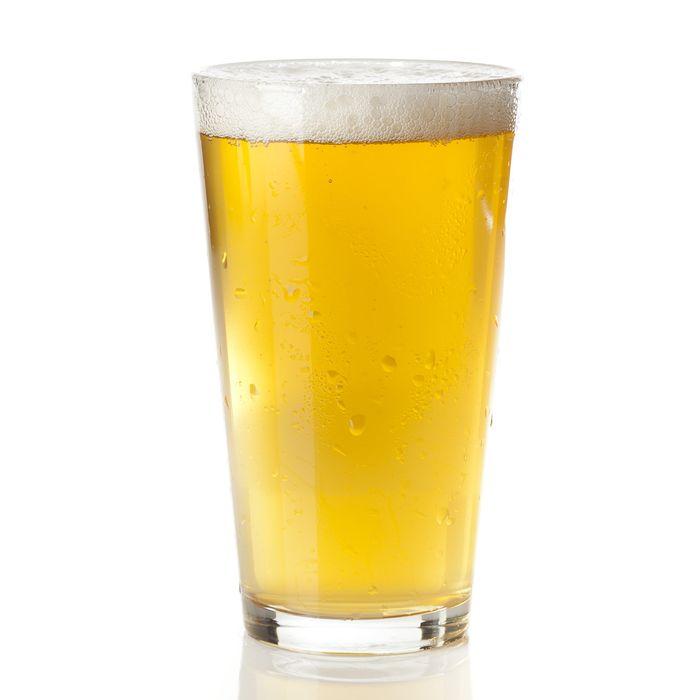 Fresh brewed, urine sample–colored.