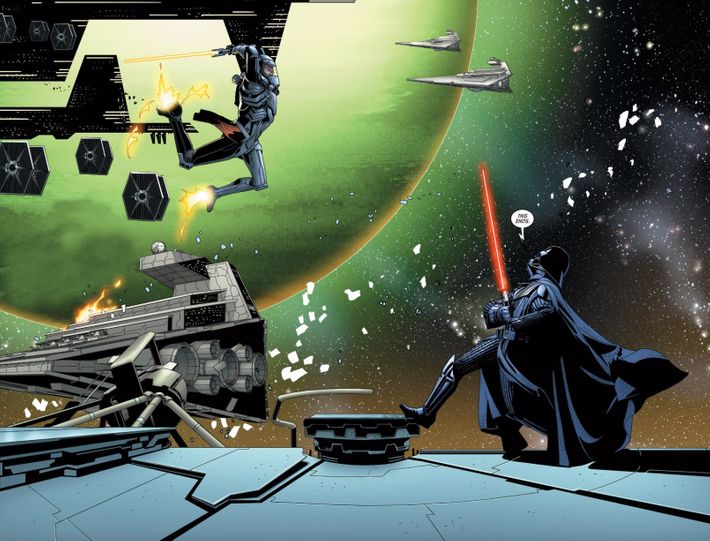 Darth Vader Canon Vs Ares Dceu: Marvel's Darth Vader Comic Is Star Wars At Its Best