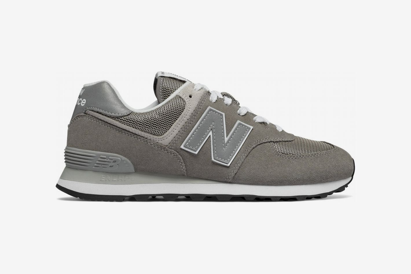 bc7b9f858d6343 The Best Monochrome Gray Sneakers. New Balance Men s 574
