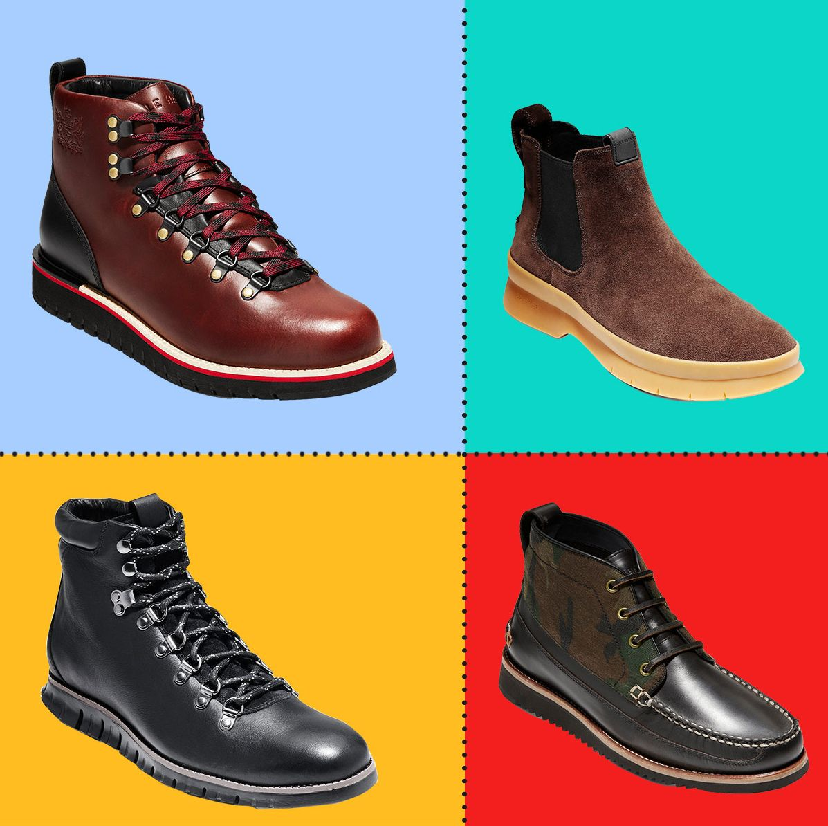 8 Cole Haan Men's Boots on Sale for