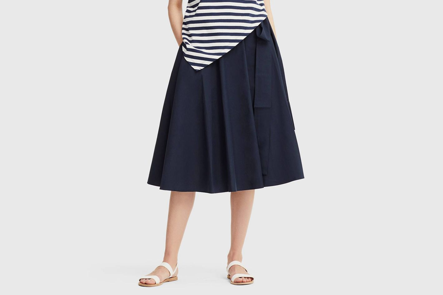 Uniqlo X JWA High-Waist Flare Skirt