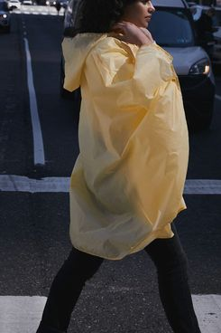 Urban Outfitters Smile In The Rain Poncho