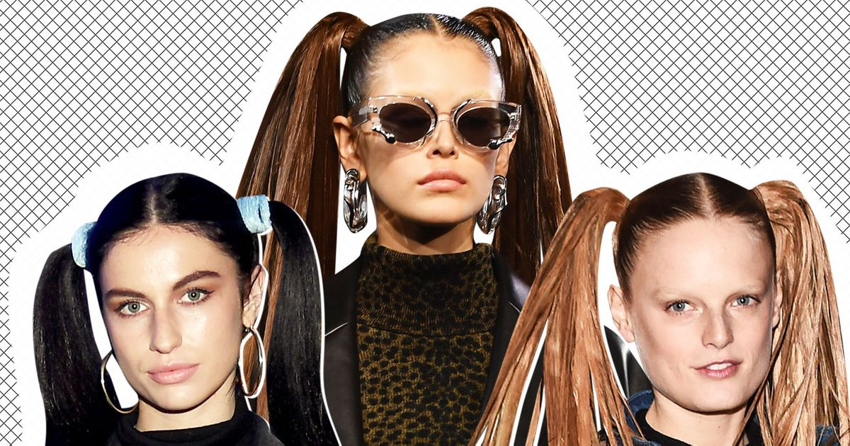 You Should Wear High Pigtails in 2019