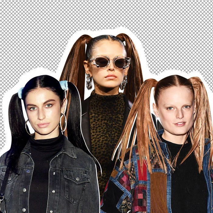 c47be6504300e You Should Wear High Pigtails in 2019