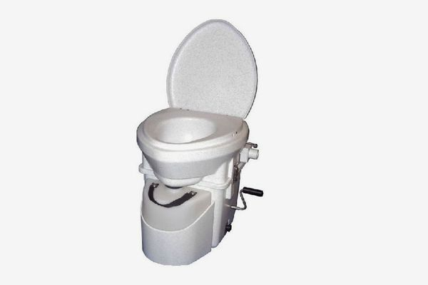 Nature's Head Composting Toilet With Standard Crank Handle