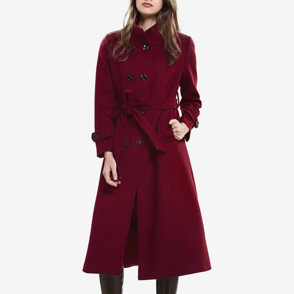 Escalier Wool Trench Coat
