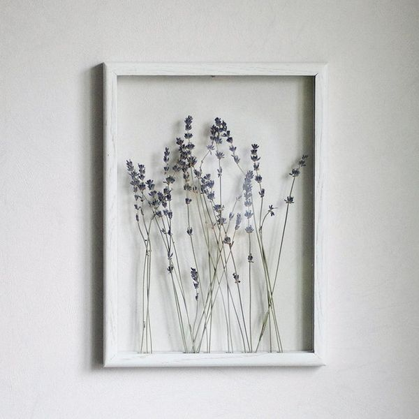 My Botanica Lavender Art Pressed Flower Frame