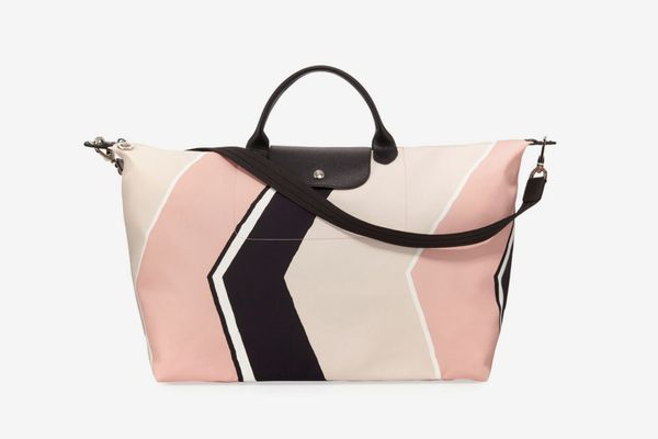 Longchamp Le Pliage Neo Geo Travel Bag, Petal