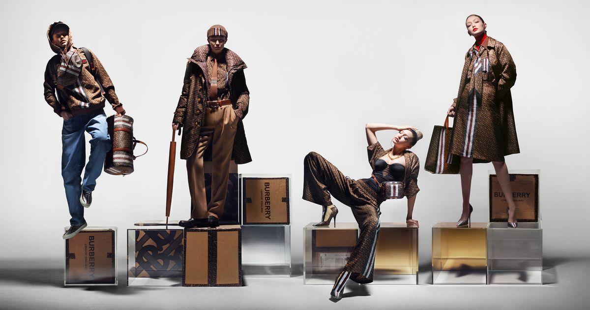 4 Gigi Hadids Star in Burberry's New Ad