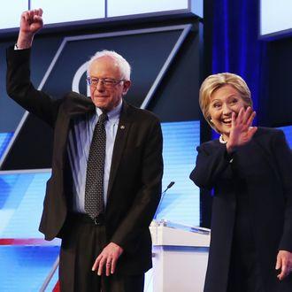 Democratic Presidential Candidates Debate In Miami