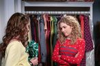 "The Carrie Diaries -- ""Pilot"" -- Pictured (L-R): Stefania Owen as Dorrit and AnnaSophia Robb as Carrie"