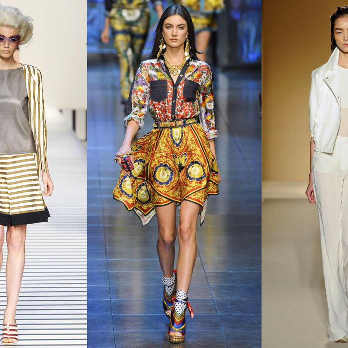 New looks for next spring from Antonio Marras, Moschino, and Etro