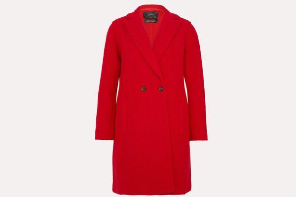 J.Crew Daphne Wool-Felt Coat
