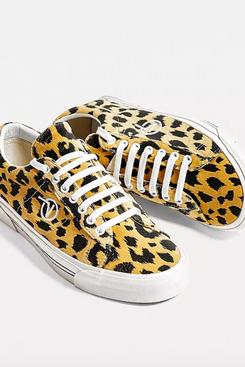 Vans SID DX Leopard Print Trainers
