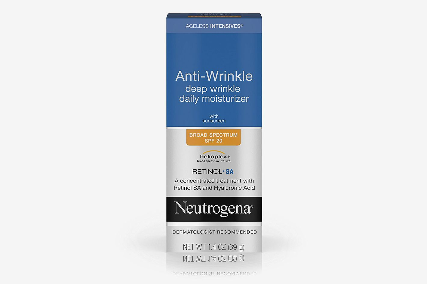 Neutrogena Anti-Wrinkle Deep Wrinkle Daily Moisturizer With Retinol SPF 20