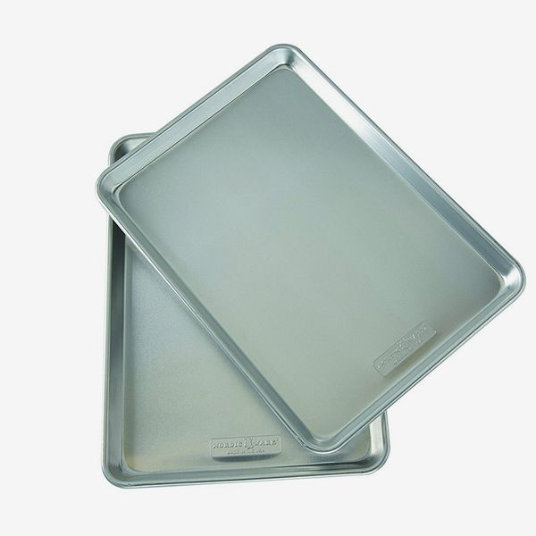 Nordic Ware Natural Aluminum Commercial Baker's Half Sheet (2 Pack)