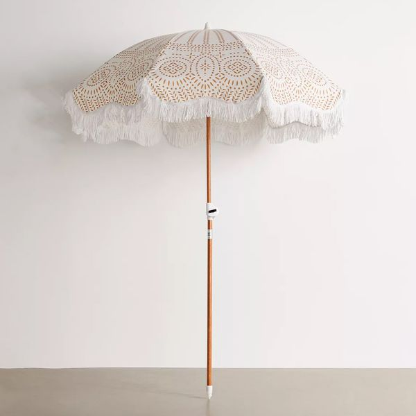 Business & Pleasure Co. Fringed Beach Umbrella