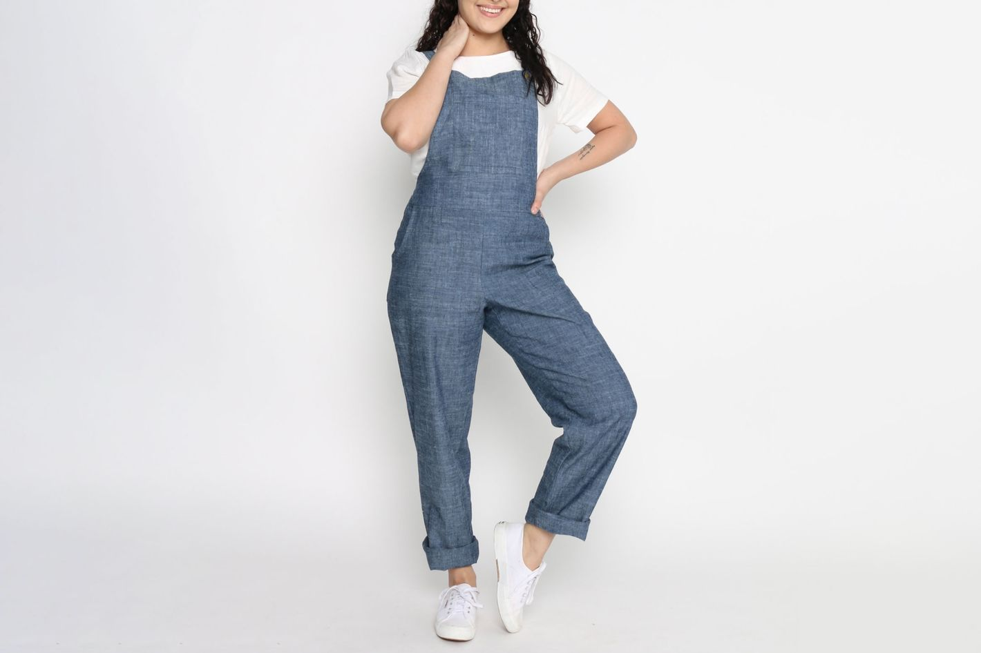 Conscious Clothing Brussels Denim Overalls