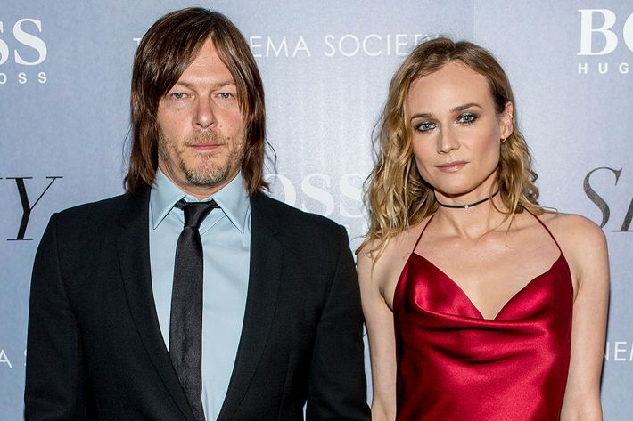 It Sure Looks Like Diane Kruger Is Dating Norman Reedus Now