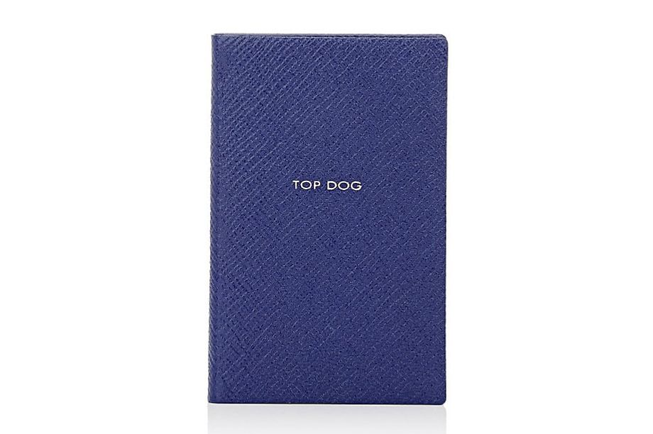 "Smythson ""Top Dog"" Notebook"
