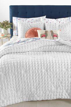 Whim by Martha Stewart Collection Seersucker 3-Piece Full/Queen Comforter Set