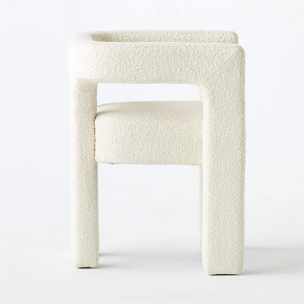 CB2 Stature Ivory Chair