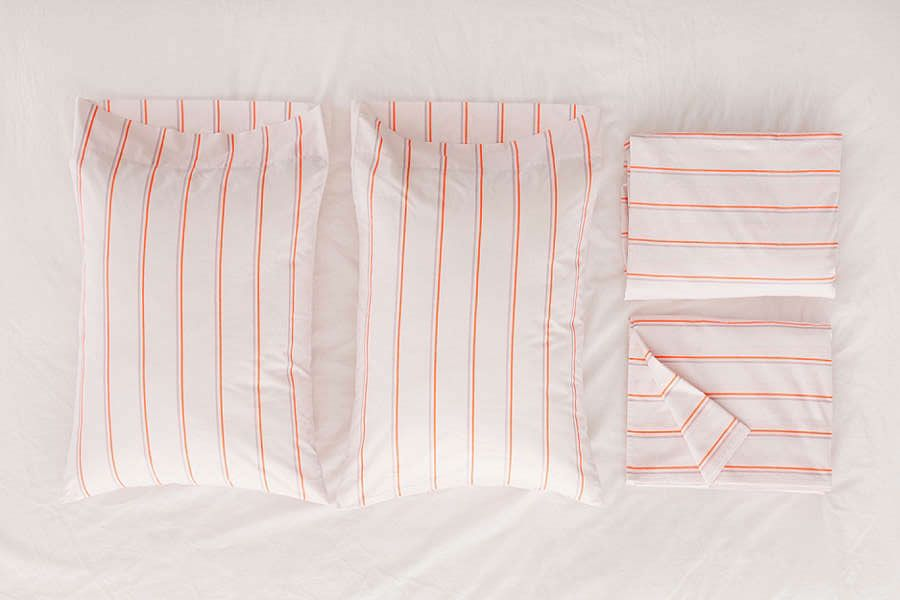 Neon Stripe Sheet Set
