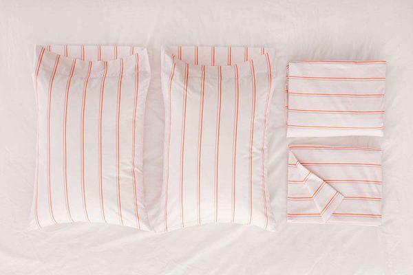 Neon Stripe Sheet Set