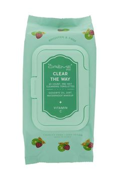 "The Crème Shop ""Clear The Way!"" Towelettes (Vitamin C)"