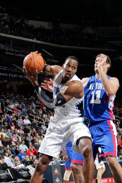 NEWARK, NJ - FEBRUARY 22: Dwight Howard #12 of the Orlando Magic controls the ball against Brook Lopez #11 of the New Jersey Nets on February 22, 2012 at the Prudential Center in Newark, New Jersey.  NOTE TO USER: User expressly acknowledges and agrees that, by downloading and or using this photograph, User is consenting to the terms and conditions of the Getty Images License Agreement. Mandatory Copyright Notice: Copyright 2012 NBAE  (Photo by Steven Freeman/NBAE via Getty Images)