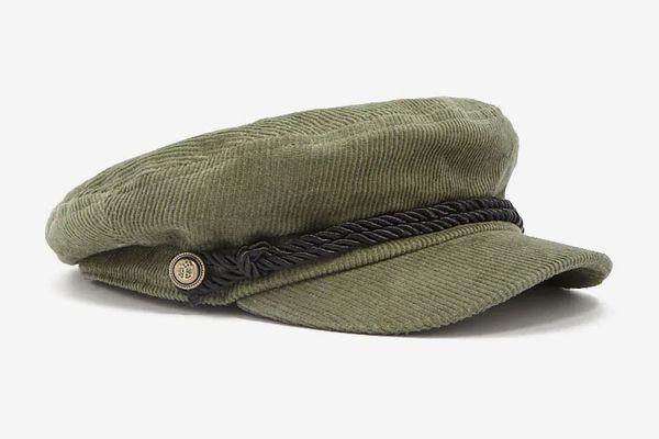 Corduroy Cabby Hat