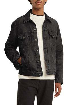Levi's Vintage-Fit Denim Trucker Jacket