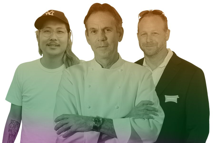Chefs who have found success: Thomas Keller, Andy Ricker, and Danny Bowien.