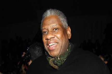Andre Leon Talley attends the Vera Wang Fall 2012 show during Fashion Week in New York, Tuesday, Feb. 14, 2012.