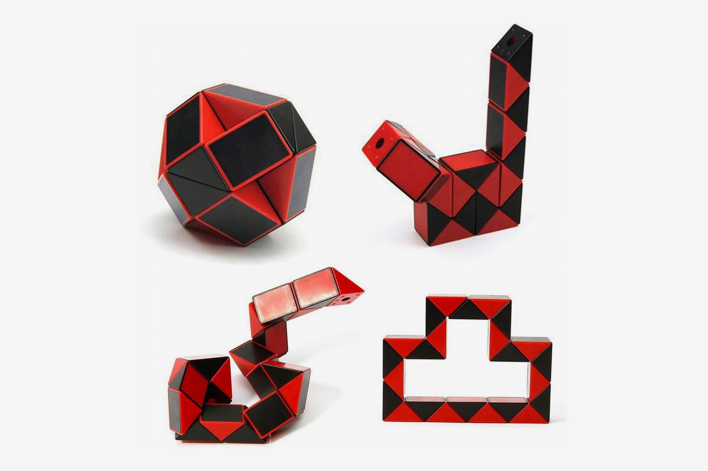 Afiken Speed Cube Magic Snake Ruler Brain Teaser Skew Toy