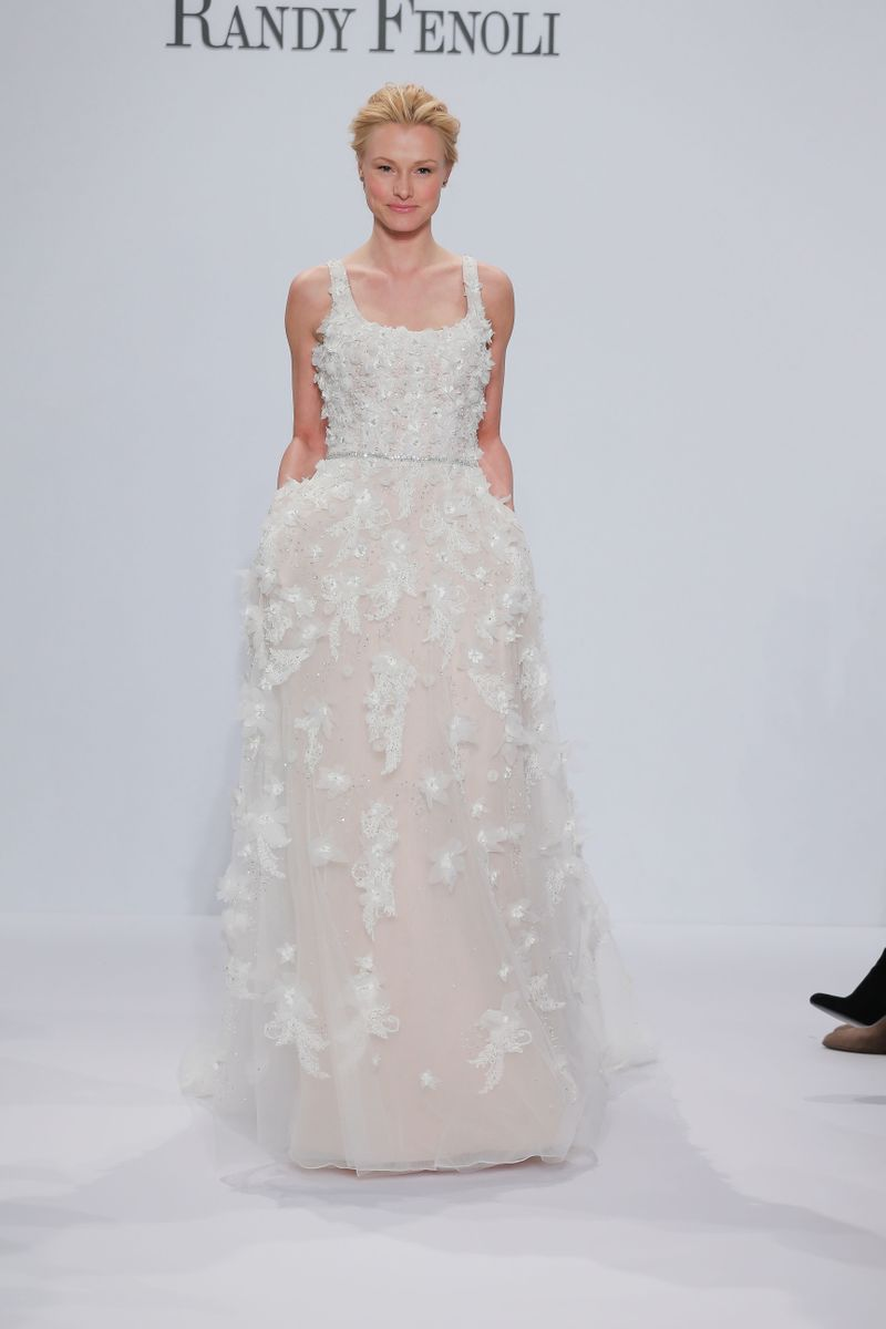 Randy fenoli spring 2018 bridal the cut Randy wedding dress design