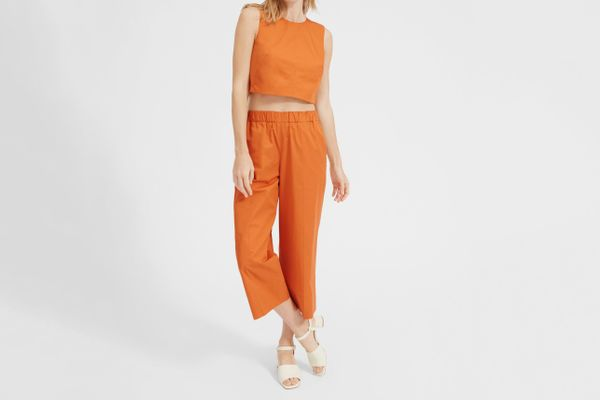 Everlane Clean Cotton Culotte