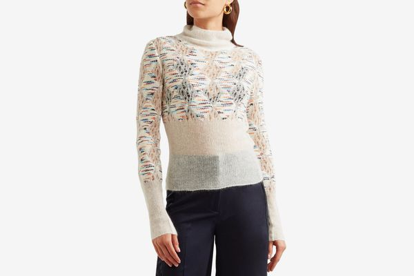 Missoni Open-Knit Mohair Sweater