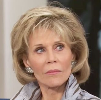Jane Fonda Did Not Come To Play With Megyn Kelly