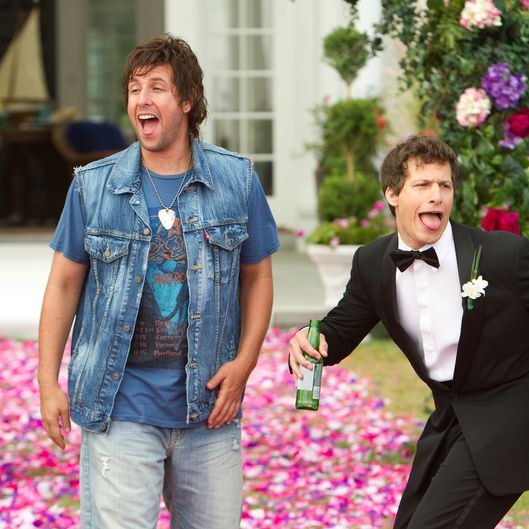Donny Berger (Adam Sandler) and Todd Peterson (Andy Samberg) in Columbia Pictures' comedy THAT'S MY BOY.