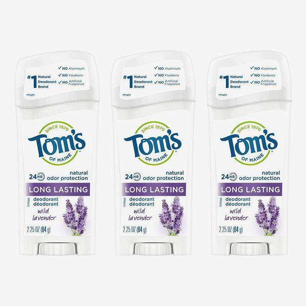 Tom's of Maine Wild Lavender Aluminum-Free Natural Deodorant for Women (3-Pack)