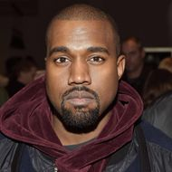 Kanye West attends the Jeremy Scott show  at Milk Studios on February 18, 2015 in New York City