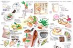 Meet the Woman Who Illustrates Restaurant Meals Instead of Instagramming Them