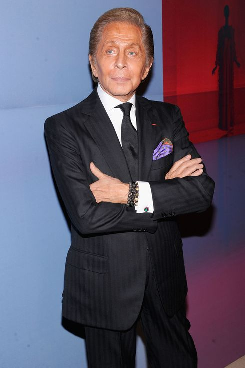 Valentino Garavani at the Valentino Garavani Virtual Museum Launch on December 7, 2011 in New York City.
