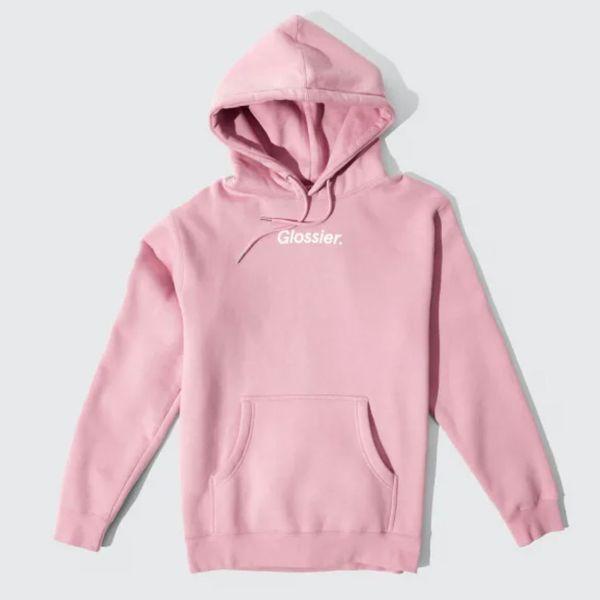 Glossier Original Pink Hoodie