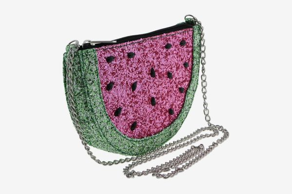 Capelli New York Glitter Watermelon Crossbody Bag